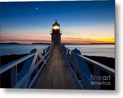 Marshall Point Light Metal Print by Brian Jannsen