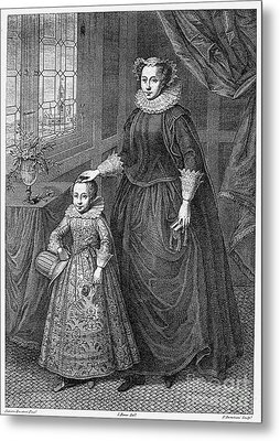 Mary, Queen Of Scots Metal Print by Granger