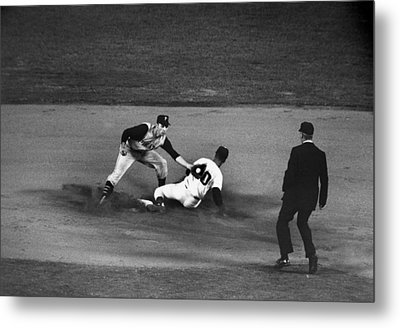 Maury Wills (1932- ) Metal Print by Granger
