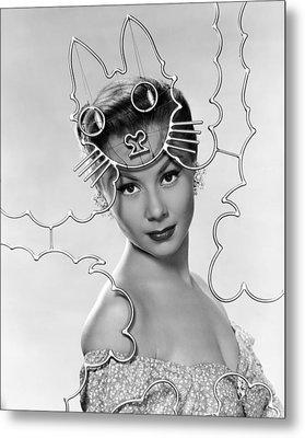 Mitzi Gaynor, Ca. Early 1950s Metal Print by Everett