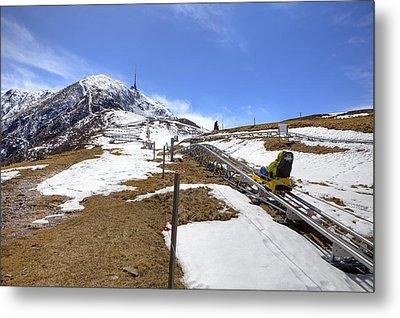 Monte Tamaro - Alpe Foppa - Ticino - Switzerland Metal Print by Joana Kruse
