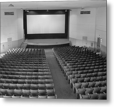 Movie Theaters, The Fort Mccoy Metal Print by Everett