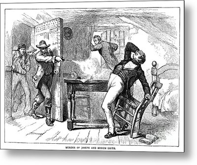 Murder Of Smith, 1844 Metal Print by Granger