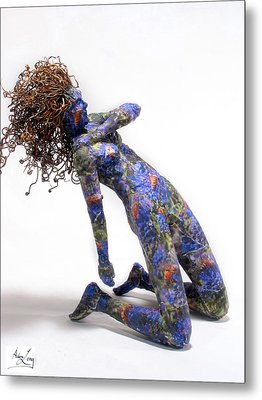 Nectar A Sculpture By Adam Long Metal Print