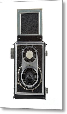 Old Camera Metal Print by Michal Boubin