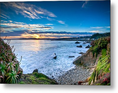 Pacific Grove Sunrise Metal Print
