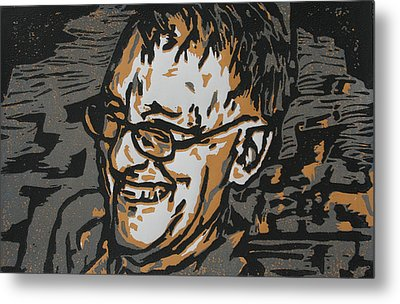 Papa Metal Print by William Cauthern