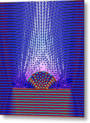 Quantum Resonance Metal Print by Eric Heller