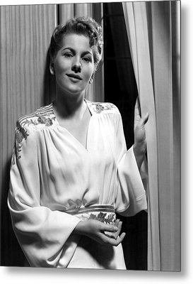 Rebecca, Joan Fontaine, 1940 Metal Print by Everett