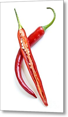 Red Hot Chili Peppers Metal Print by Elena Elisseeva