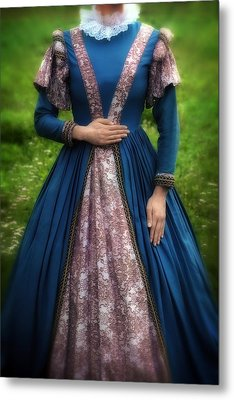 Renaissance Princess Metal Print by Joana Kruse
