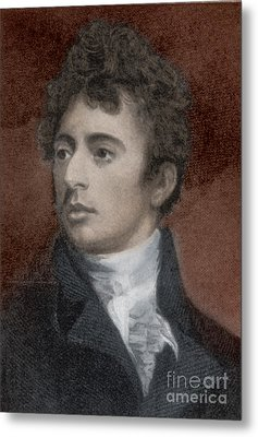 Robert Southey, English Poet Laureate Metal Print by Photo Researchers