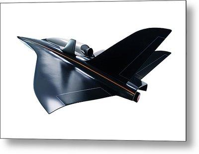 Saenger Horus Spaceplane, Artwork Metal Print by Detlev Van Ravenswaay