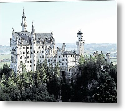 Schloss Neuschwanstein Germany Metal Print by Joseph Hendrix