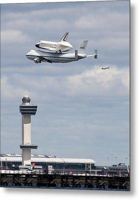 Shuttle Enterprise Metal Print by Roni Chastain