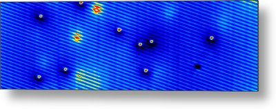 Spintronics Research, Stm Metal Print
