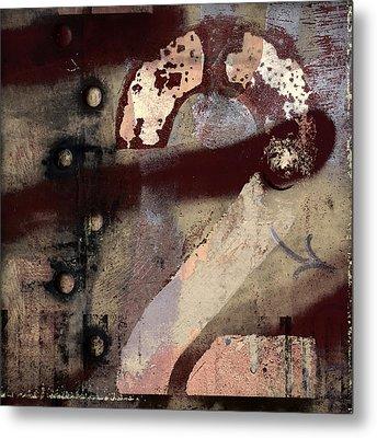 2 Squared Metal Print by Carol Leigh