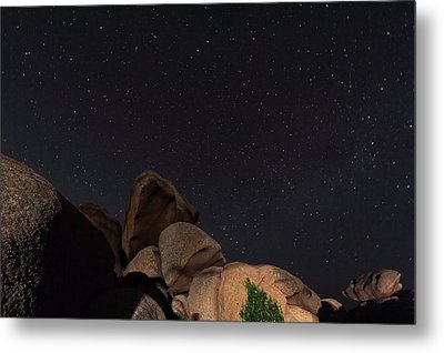 Stars In A Night Sky Metal Print by Laurent Laveder