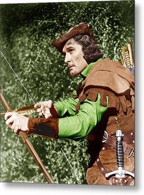 The Adventures Of Robin Hood, Errol Metal Print by Everett
