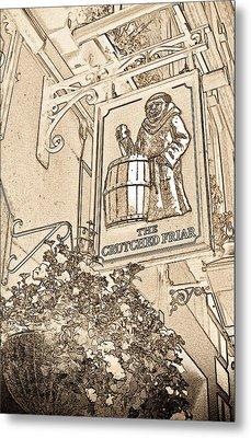 The Crutched Friar Public House Metal Print