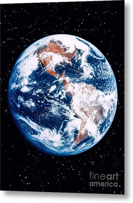 The Earth Metal Print by Stocktrek Images