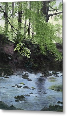 The Glen Metal Print