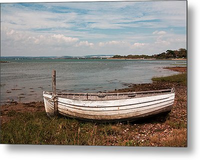 Metal Print featuring the photograph The Old Boat by Shirley Mitchell