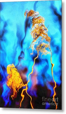 The Reeds Metal Print by Odon Czintos