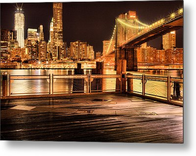 The View Metal Print by JC Findley