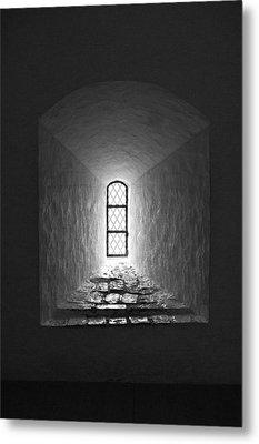 The Window Of The Castle Of Tavastehus Metal Print by Jouko Lehto