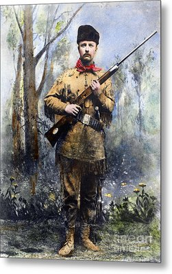 Theodore Roosevelt Metal Print by Granger