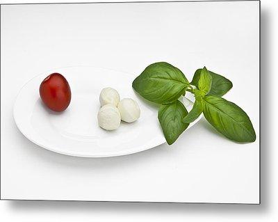 Tomato Mozzarella Metal Print by Joana Kruse
