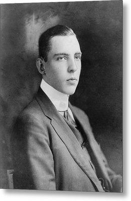 Vincent Astor 1891-1959, Late Husband Metal Print by Everett