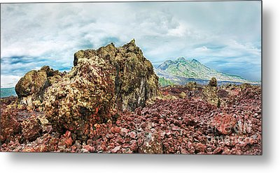 Volcano Batur Metal Print by MotHaiBaPhoto Prints