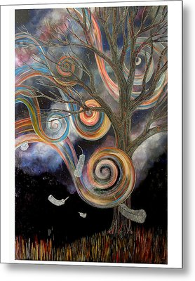 Welcome Wind Metal Print