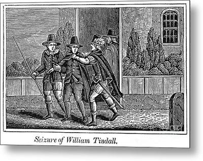 William Tyndale Metal Print by Granger