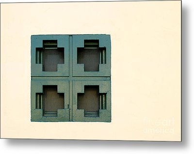 Windows Metal Print by Henrik Lehnerer