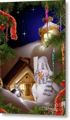 Wonderful Christmas Still Life Metal Print by Oleksiy Maksymenko
