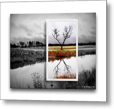 X Marks The Spot Metal Print by Brian Wallace