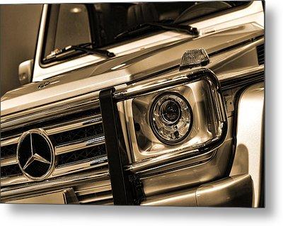 2012 Mercedes Benz G-class Metal Print by Gordon Dean II