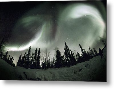 Aurora Borealis Metal Print by Chris Madeley