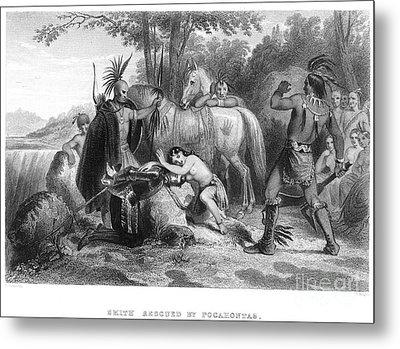 Pocahontas (1595?-1617) Metal Print by Granger