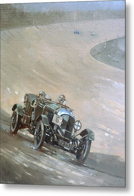 24 Hour Race At Brookland Metal Print by Peter Miller