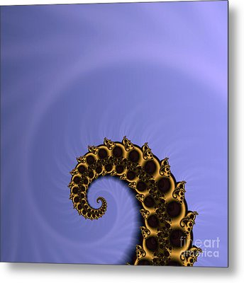 Fractal Metal Print by Odon Czintos