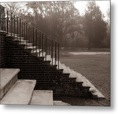 28 Up And Down Steps Metal Print by Jan W Faul