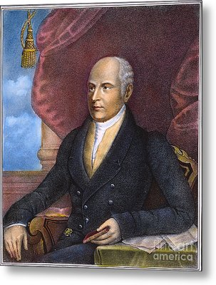 John Quincy Adams Metal Print by Granger