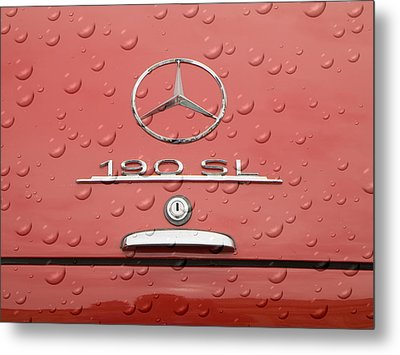 Old Mercede-benz Logos Metal Print by Odon Czintos