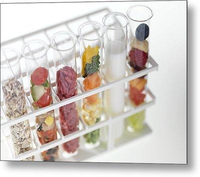 Balanced Diet Metal Print by Tek Image