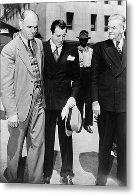 Benny Bugsy Siegel 1906-1947 Metal Print by Everett