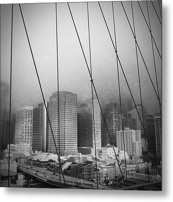 Brooklyn Bridge Metal Print by Eli Maier